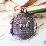 Horse Fierce and Sensitive Pendant