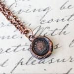 Copper Lion Pendant