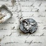 Silver Mithras & Bull Pendant