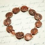 Copper Medallions Bracelet