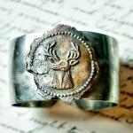 Copper Stag Bracelet