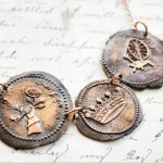 Copper Sleeping Beauty Seal Necklace